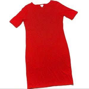 LuLaRoe Solid Red Julia
